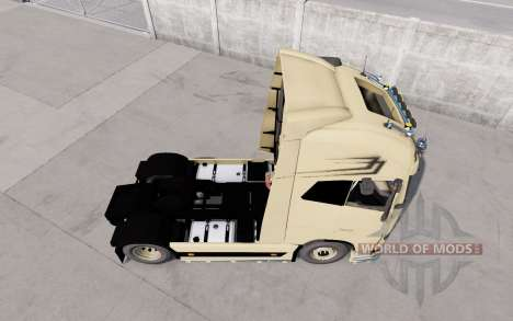 Volvo FH16 Globetrotter XL European Style v1.1 pour Euro Truck Simulator 2