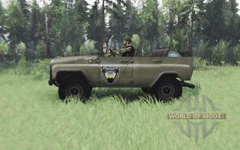 UAZ 469 S. T. A. L. K. E. R. pour Spin Tires