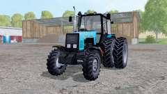 MTZ-1221 Belarus Traktor hinten dual-Räder für Farming Simulator 2015
