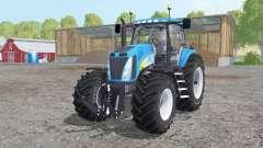 New Holland T8020 dual rear pour Farming Simulator 2015
