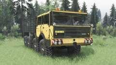 Tatra T813 TP 8x8 1967 v1.3 für Spin Tires