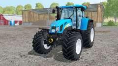 New Holland T7550 interactive control pour Farming Simulator 2015