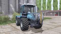 T-150K-09-25, mit einer Klinge für Farming Simulator 2017