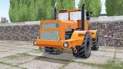 Kirovets K-701 mit der Wahl des Motors für Farming Simulator 2017