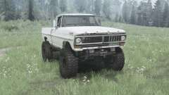 Ford F-100 1970 pour MudRunner
