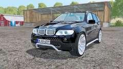 BMW X5 (E53) 2004 black für Farming Simulator 2015