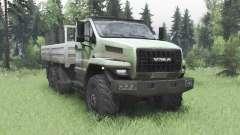 Ural 4320-6988-72Е5И06 Nächste Doppel-Kabine für Spin Tires