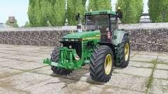 John Deere 8410 design option pour Farming Simulator 2017