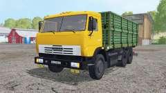 KamAZ 45143 mit Anhänger für Farming Simulator 2015