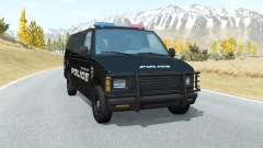 Gavril H-Series Belmont Police pour BeamNG Drive