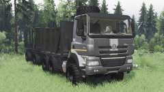 Tatra Phoenix T158-8P5 6x6 2011 dark grey pour Spin Tires