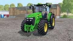 John Deere 7730 twin wheels pour Farming Simulator 2015