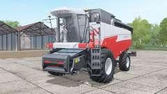 Akros 595 de Plus, avec les options pour Farming Simulator 2017