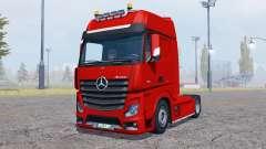 Mercedes-Benz Actros (MP4) v2.0 für Farming Simulator 2013