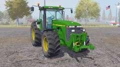 John Deere 8400 animation parts pour Farming Simulator 2013