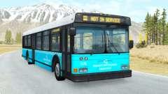 Wentward DT40L Turkish Municipal Bus skin v1.2 pour BeamNG Drive