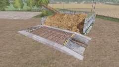 De stockage de fumier v1.0.2 pour Farming Simulator 2017