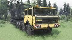 Tatra T813 TP 8x8 1967 v1.4.1 pour Spin Tires