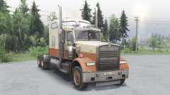 Kenworth W900 timber truck pour Spin Tires