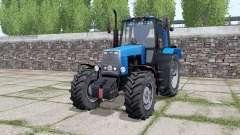 MTZ-1221 Belarus ist mild-blau für Farming Simulator 2017