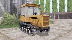 DT 75ML avec une lame pour Farming Simulator 2017