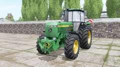 John Deere 4755 double wheels für Farming Simulator 2017