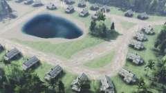 Das Dorf Ober-Kunasi für Spin Tires