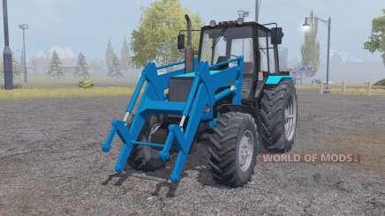 MTZ-1221 Biélorussie tracteur avec chargeur pour Farming Simulator 2013