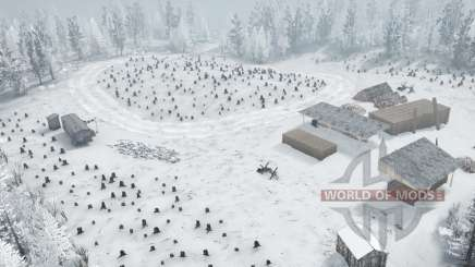Blanche-neige pour MudRunner