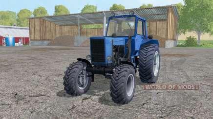 MTZ 82 Biélorussie avec le mont chargeur pour Farming Simulator 2015