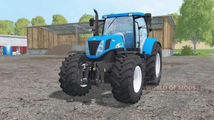 New Holland T7030 loader mounting für Farming Simulator 2015