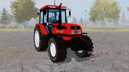 La biélorussie 1025.3 rouge pour Farming Simulator 2013