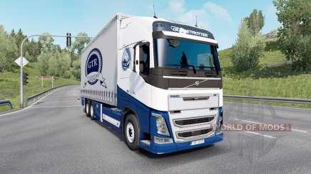 Volvo FH16 750 Globetrotter XL cab 2014 Tandem für Euro Truck Simulator 2