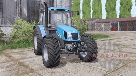 New Holland TL 100 A wheels weights pour Farming Simulator 2017