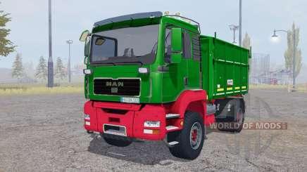 MAN TGA tipper Agroliner für Farming Simulator 2013
