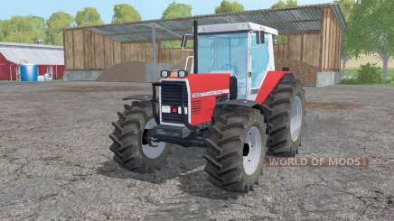Massey Ferguson 3080 twin wheels pour Farming Simulator 2015