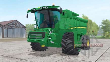 John Deere S690i with header pour Farming Simulator 2017