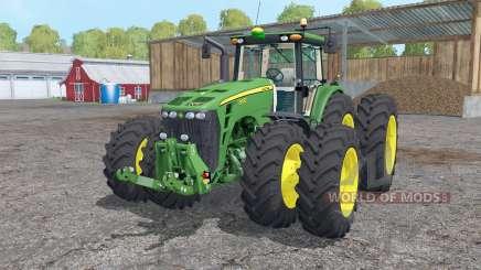 John Deere 8530 twin wheels für Farming Simulator 2015