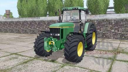 John Deere 7710 wide tyre pour Farming Simulator 2017