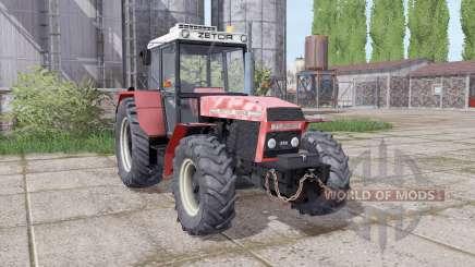 Zetor 16245 configure pour Farming Simulator 2017