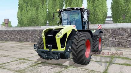 Claas Xerion 5000 Trac VC double wheels pour Farming Simulator 2017