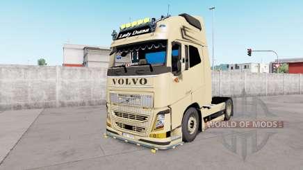 Volvo FH16 Globetrotter XL European Style v1.1 für Euro Truck Simulator 2