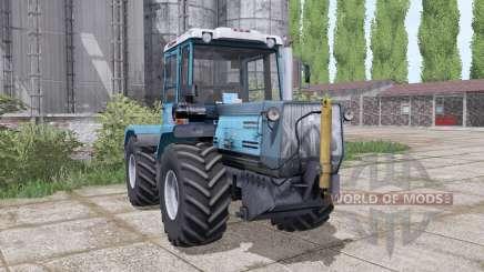 T-150K-09-25, avec une lame pour Farming Simulator 2017