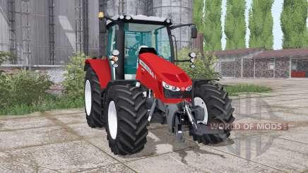 Massey Ferguson 5712 twin wheels pour Farming Simulator 2017