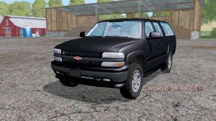 Chevrolet Suburban (GMT800) 2005 für Farming Simulator 2015
