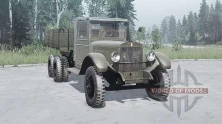 Dit 6 1933 pour MudRunner