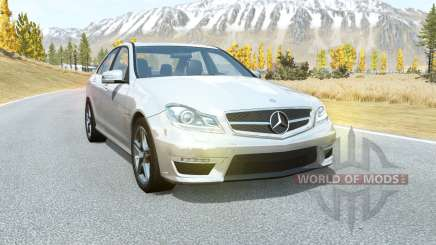 Mercedes-Benz C 63 AMG (W204) 2011 pour BeamNG Drive