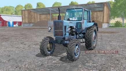 MTZ 82 Biélorussie ninasimone bleu pour Farming Simulator 2015