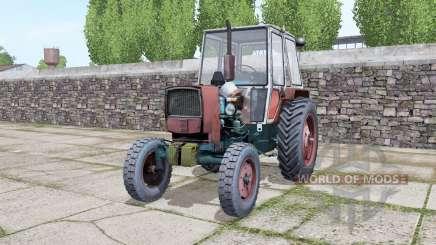 YUMZ 6КЛ avec choix de roues pour Farming Simulator 2017