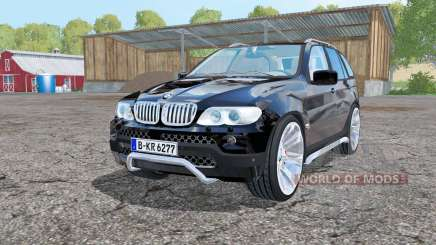BMW X5 (E53) 2004 black für Farming Simulator 2015